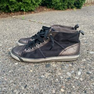 Coach Black High Top Sneakers